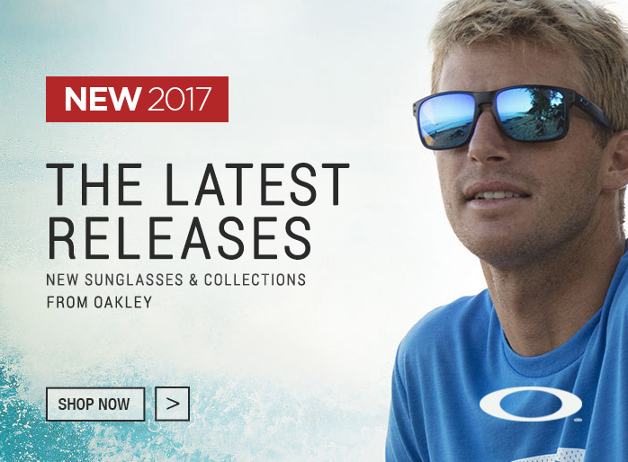 New 2017 Sunglasses from Oakley