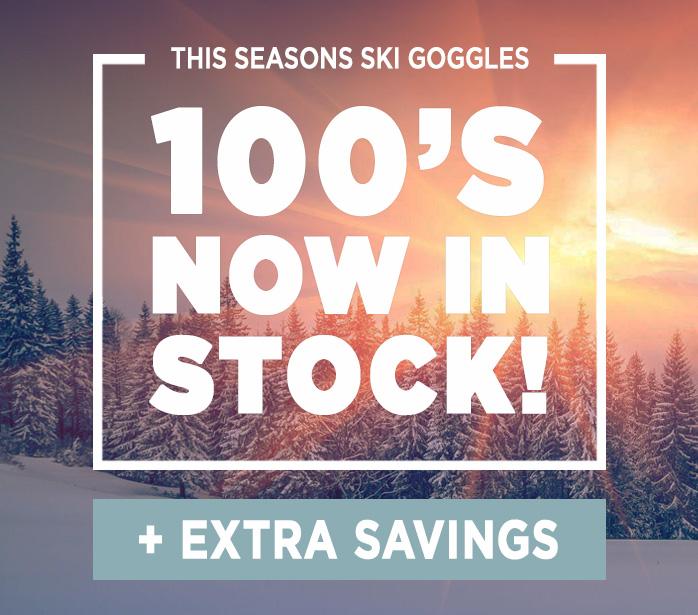 100's of Ski Goggles now in stock