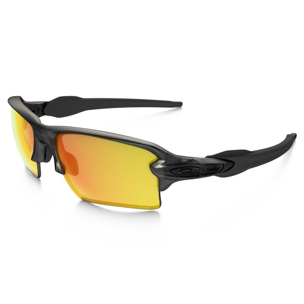 Polarized Oakley Flak 2 0 Xl Sunglasses Matte Grey Smoke