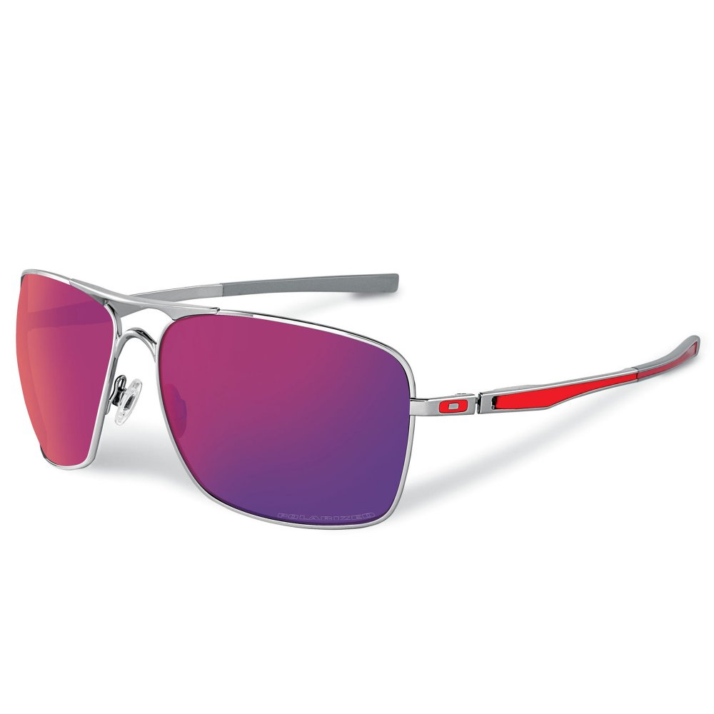 8df57f16cb Oakley Plaintiff Polarized Sunglasses Red