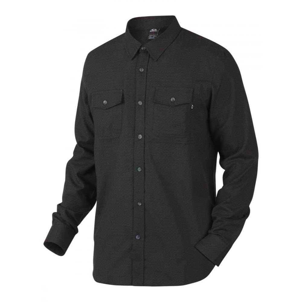Oakley OPlaid Long Sleeve Woven Shirt  PACIFIC BLUE