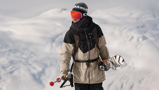 Oakley Ski Goggles scene