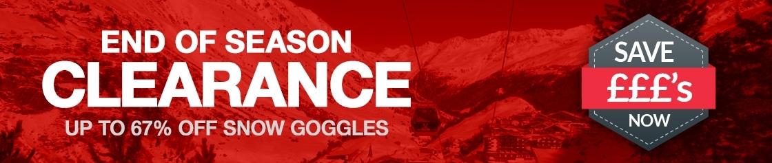 Clearance Goggle Sale