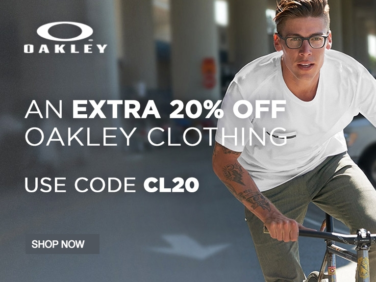 Extra 20% Off Oakley Clothing