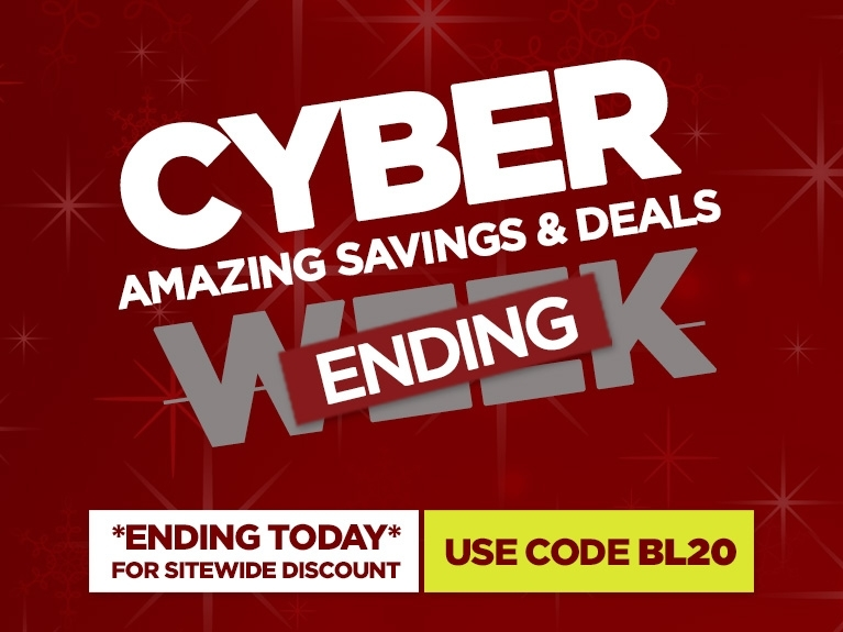 Cyber Monday Extra 20 Off