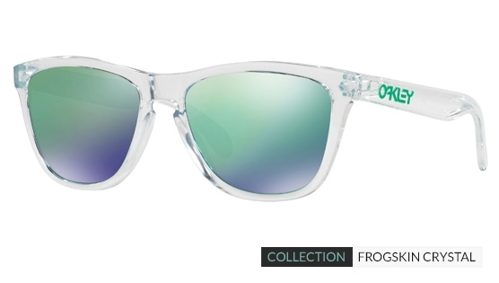 Oakley Frogskin Crystal Collection