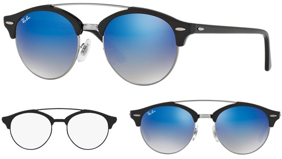 Ray-Ban Clubround Double Bridge Range