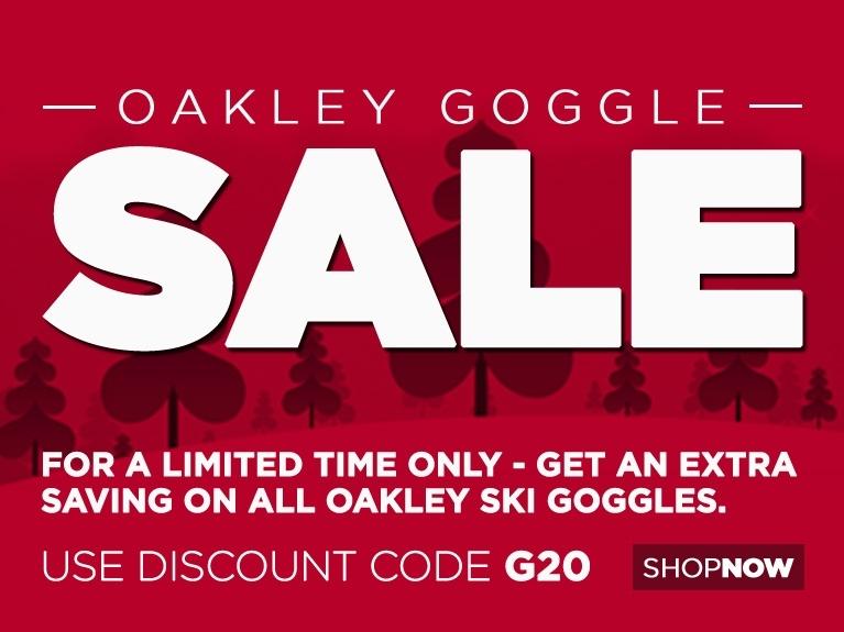 Oakley Goggle Sale Mar 18