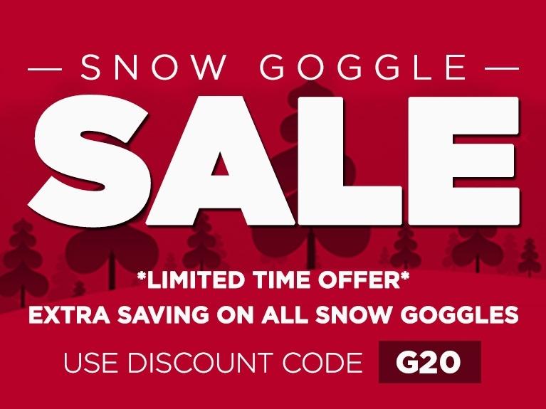 Goggle Sale April 2018