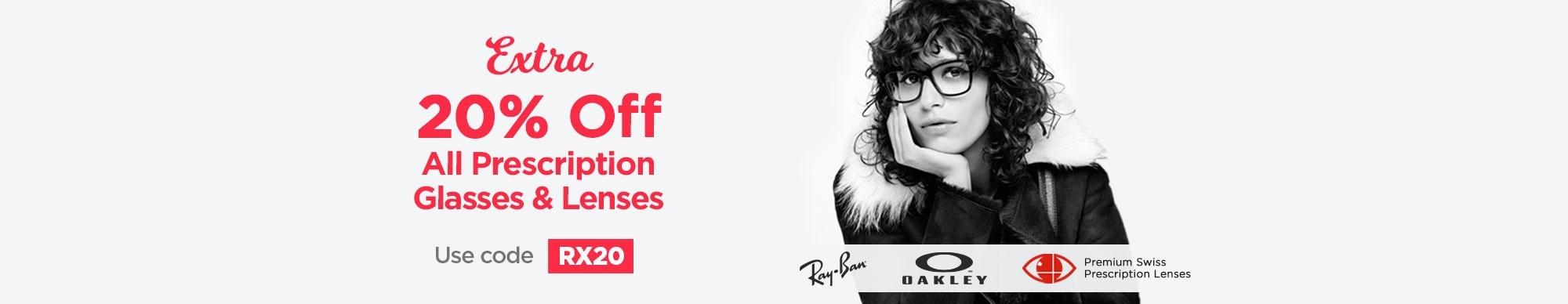 RX Glasses RX20 Promotion