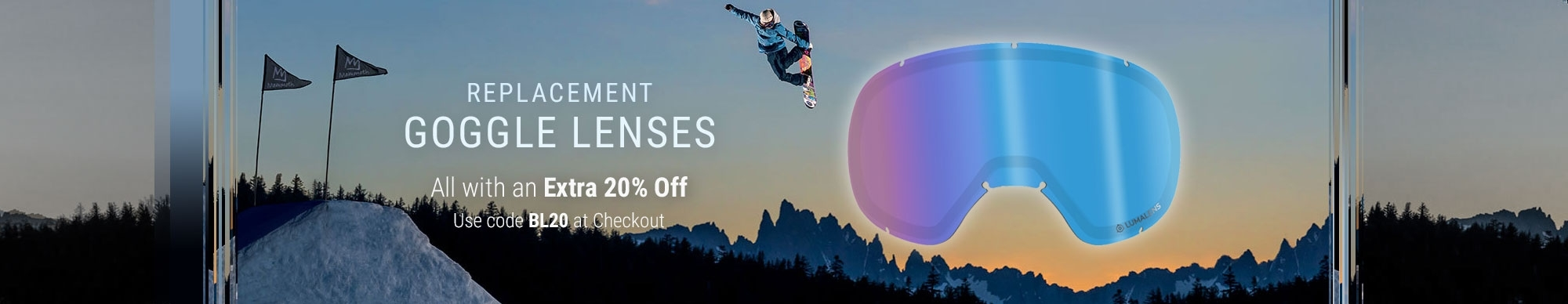 Replacement Goggle Lenses