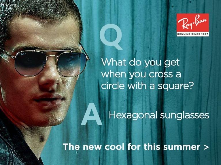 Hexagonal Sunglasses
