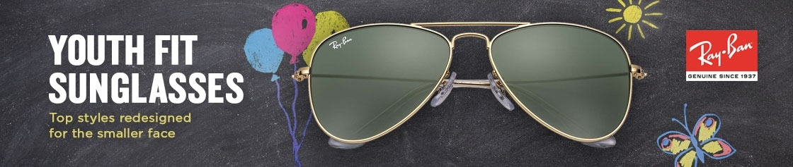 Ray-Ban Youth Fit Sunglasses