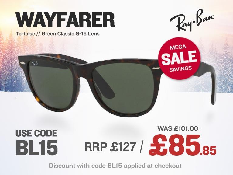 Sunglasses Sale | Wayfarer | Jan 20