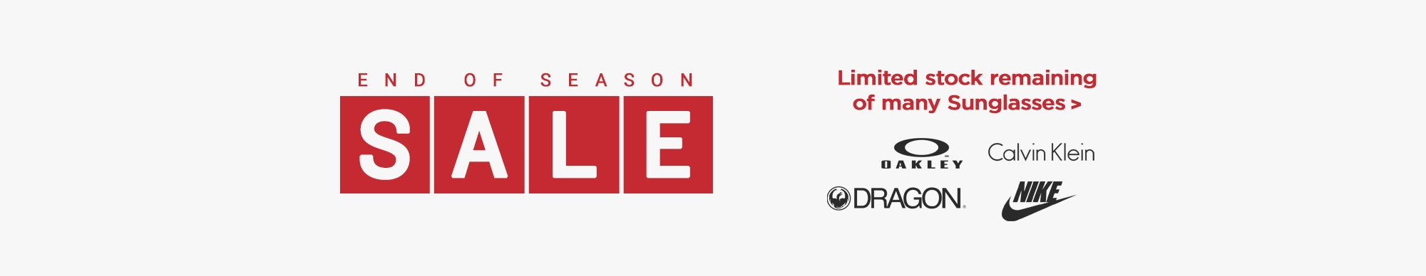 End of Season Sale | Sept 2020