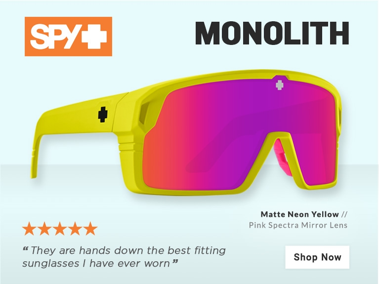 SPY Monolith Sunglasses - Oct 2021