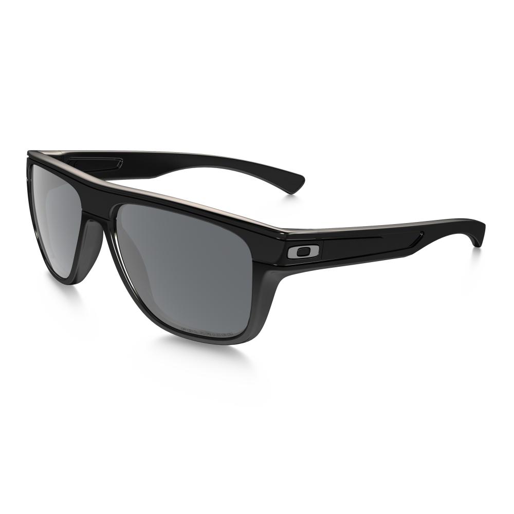 61d751db2a6 Polarized Oakley Breadbox Sunglasses Polished Black OO9199-03