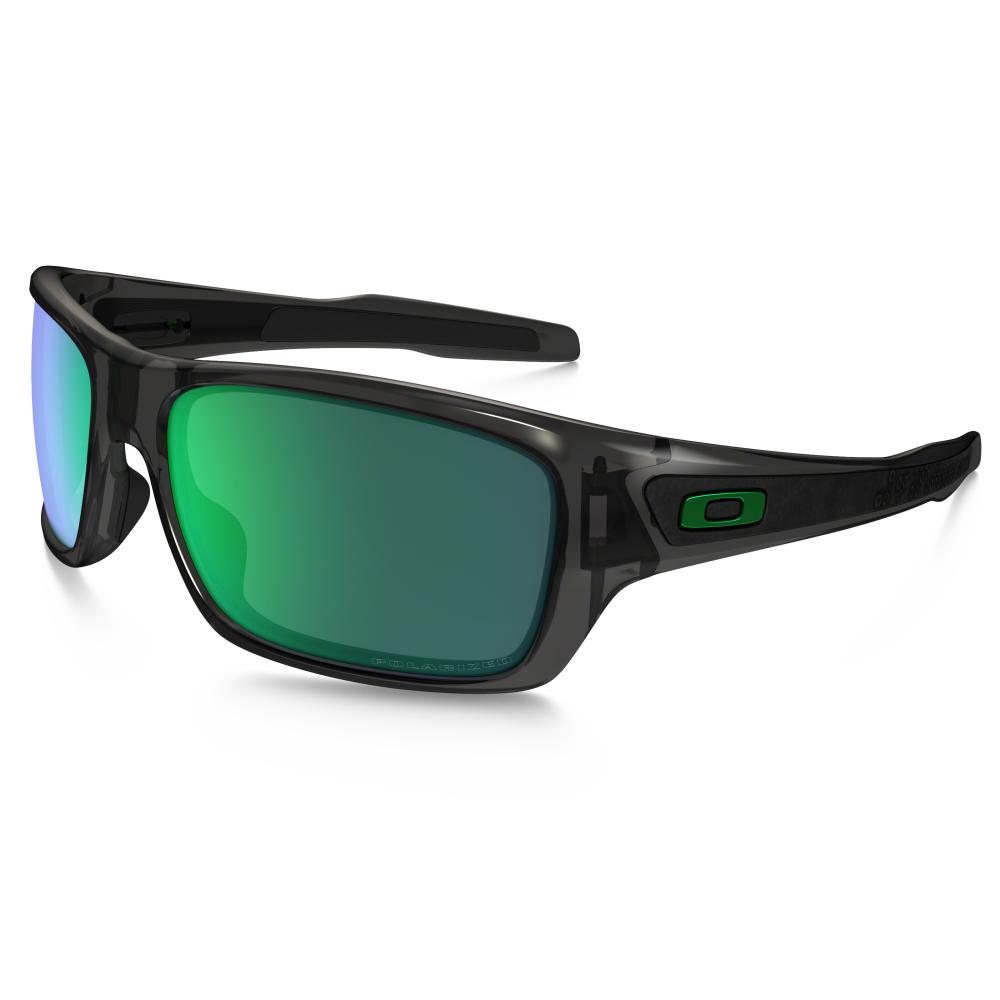 39ae5e8bf0 Polarized Oakley Turbine Sunglasses Grey Smoke OO9263-09