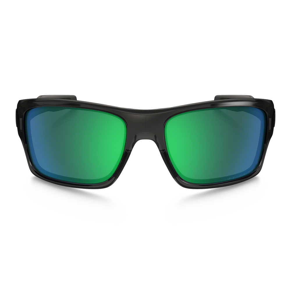 e519fc314b57c Polarized Oakley Turbine Sunglasses Grey Smoke OO9263-09