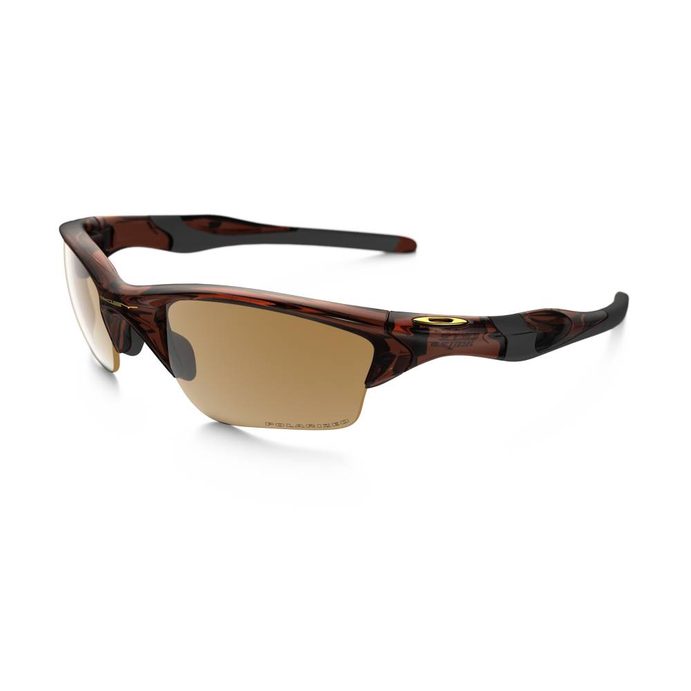 oakley half jacket bronze polarized