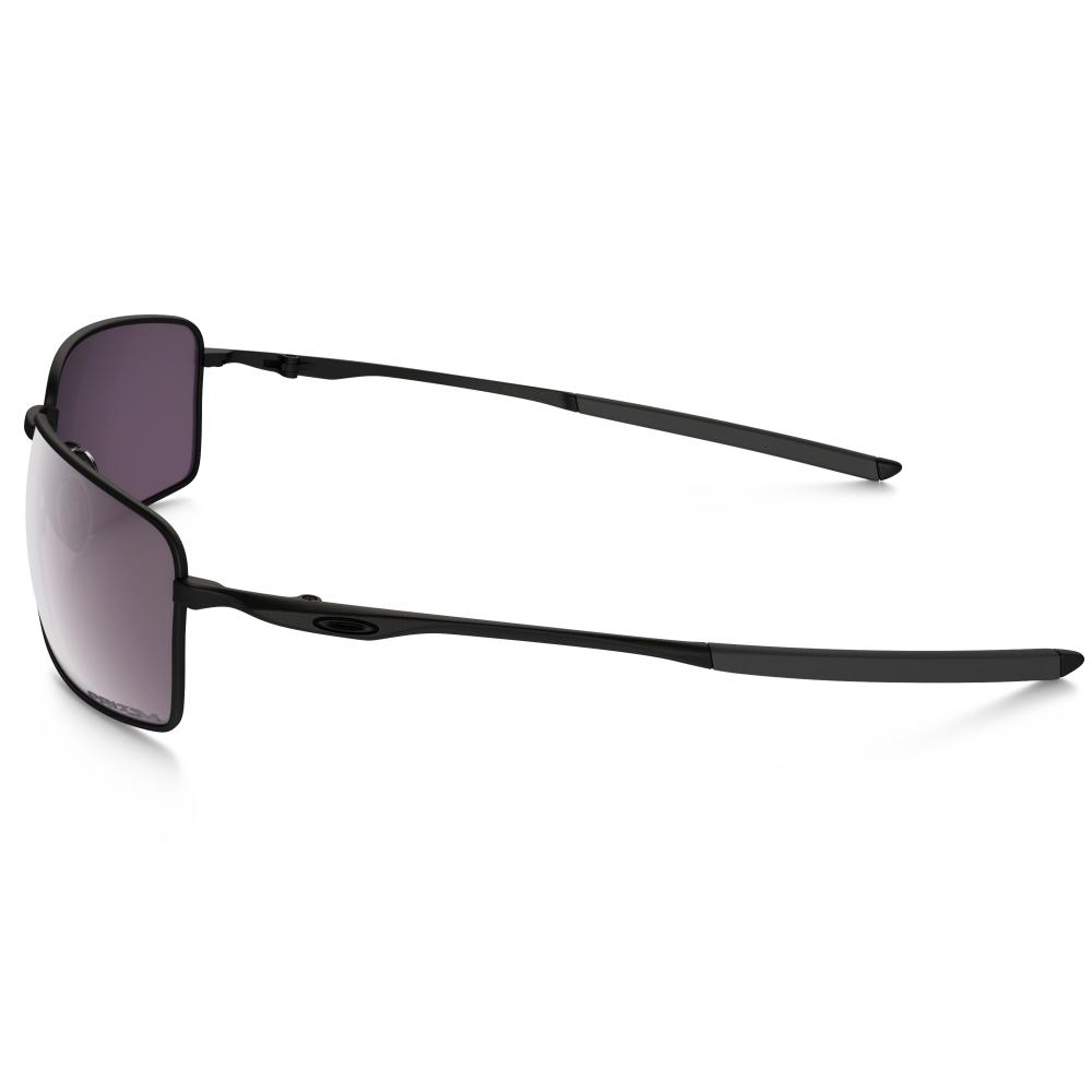 Polarized Oakley Prizm Square Wire Sunglasses Matte Black OO4075-01