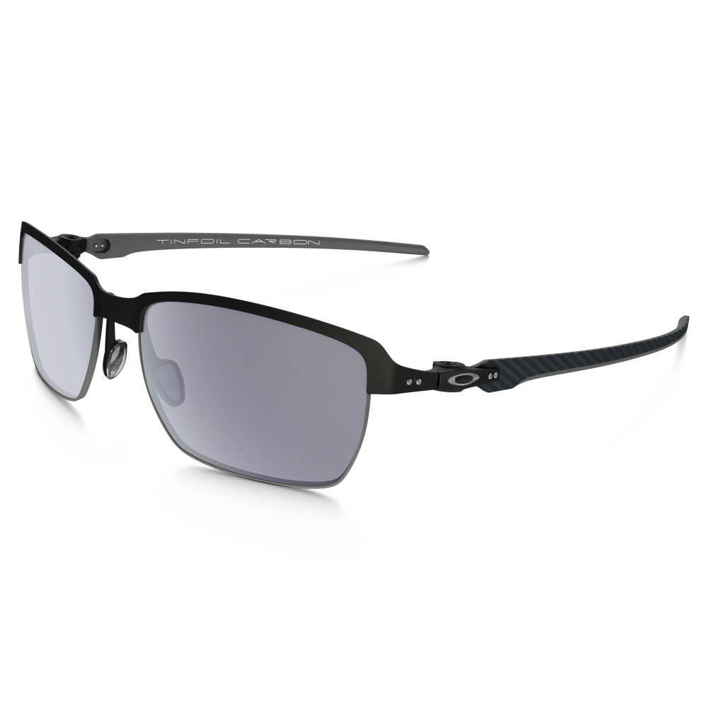 803b4ff6aa6 Oakley Tinfoil Carbon Matte Black Silver OO6018-01