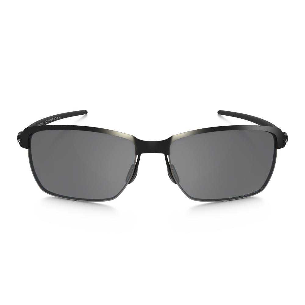 d5b0c18cc8e Polarized Oakley Tinfoil Carbon Sunglasses Satin Black Steel OO6018-02