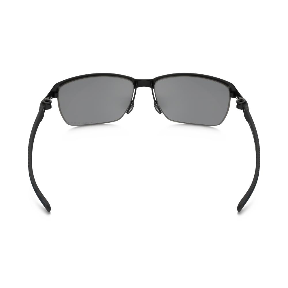 1be4f80b13f Polarized Oakley Tinfoil Carbon Sunglasses Satin Black Steel OO6018-02