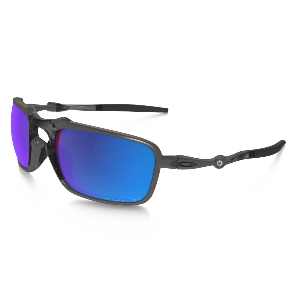 04ea48bda0d Polarized Oakley Badman Sunglasses Plasma OO6020-04