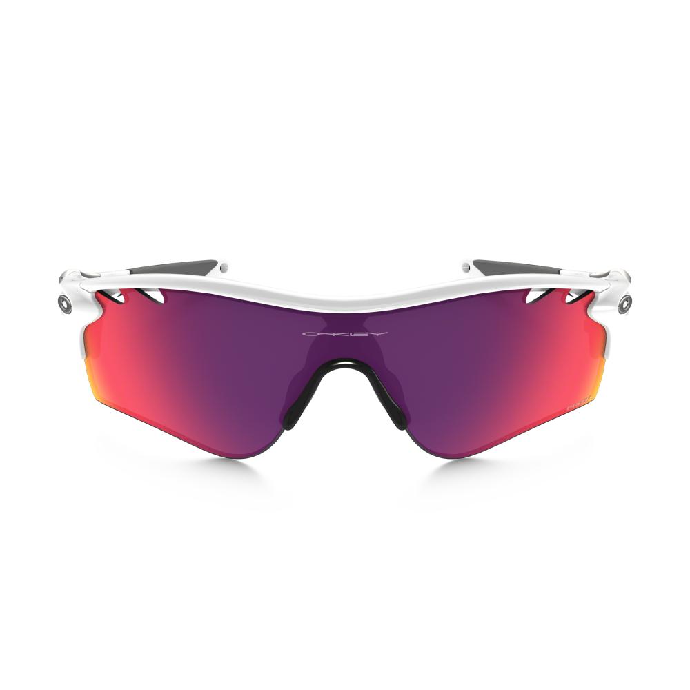 1fbf58c433b1 Prizm Oakley Radarlock Path Sunglasses Polished White OO9181-40
