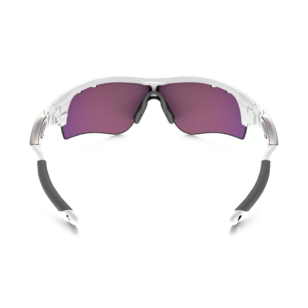 e0f14dffa94 Prizm Oakley Radarlock Path Sunglasses Polished White OO9181-40