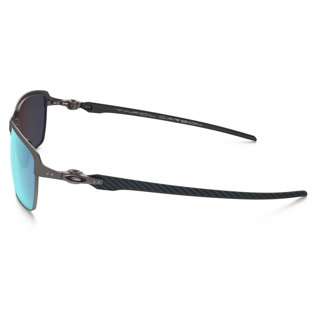 b9334a0f03 Polarized Oakley Tinfoil Carbon Lead Matte Black OO6018-04