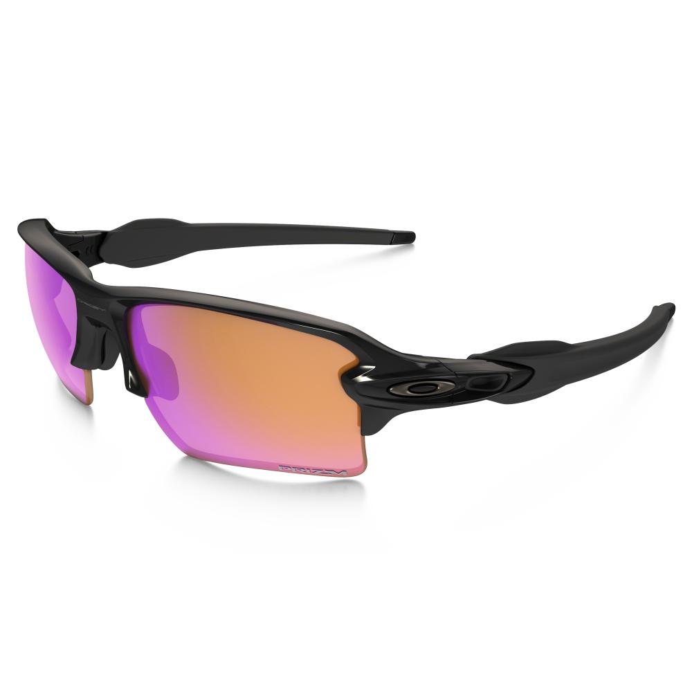e0cfdaaaa5d3e Prizm Oakley Flak Jacket XLJ Sunglasses Polished Black OO9009-06