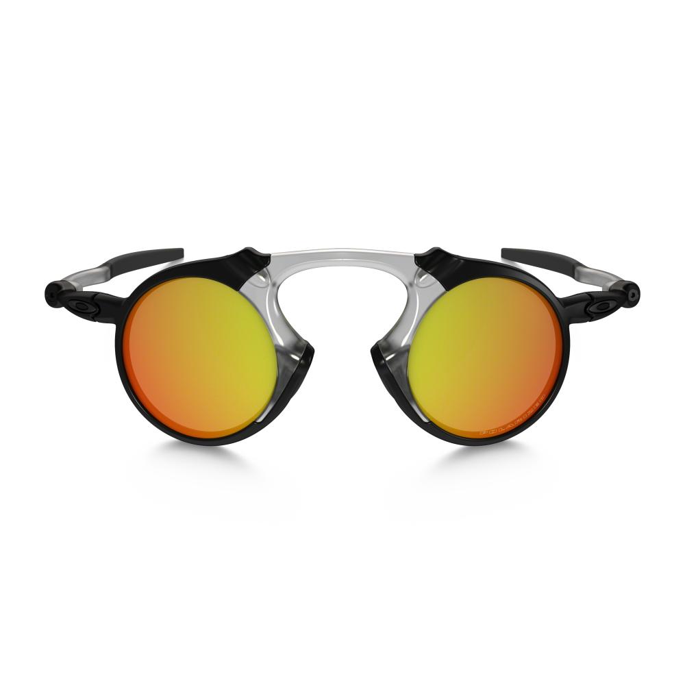 ece0188c13 Polarized Oakley Madman Sunglasses Dark Carbon OO6019-04