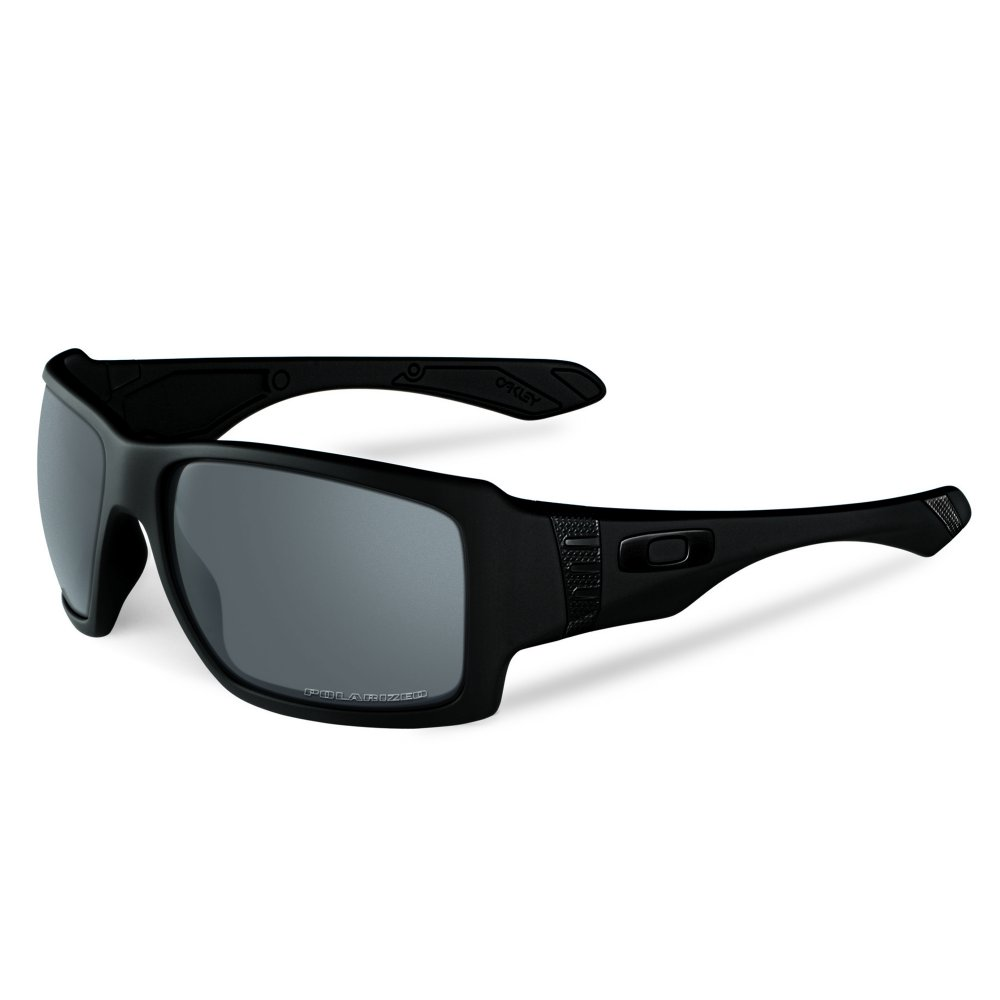 ad1bc7b1064 Polarized Oakley Big Taco Sunglasses Matte Black OO9173-04
