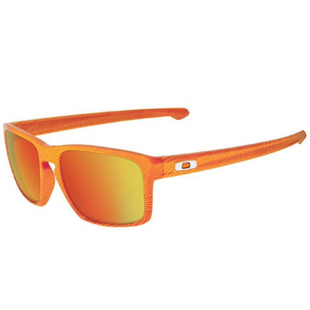 c31ad31460 Oakley Sliver Sunglasses Fingerprint Atomic Orange OO9262-16