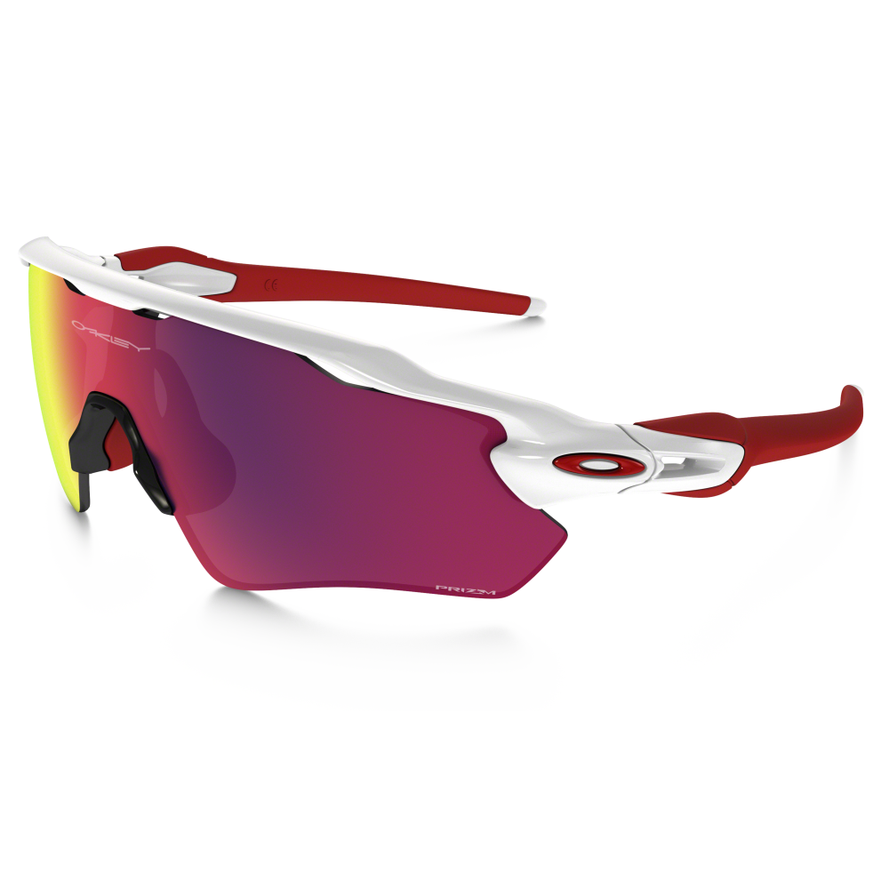 8ade690cbf0 Prizm Oakley Radar EV Path Polished White OO9208-05