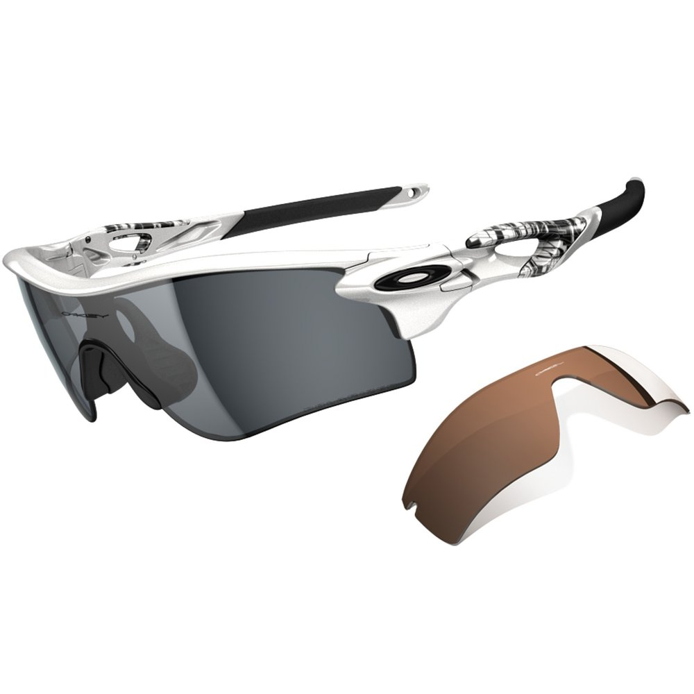 Oakley Radarlock Path >> Polarized Oakley Radarlock Path Silver OO9181-21
