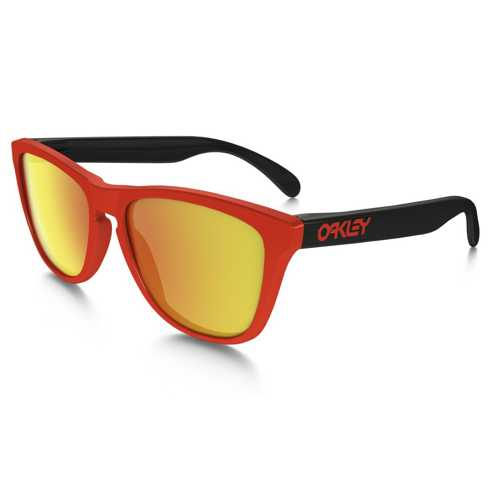 oakley frogskins heritage collection red