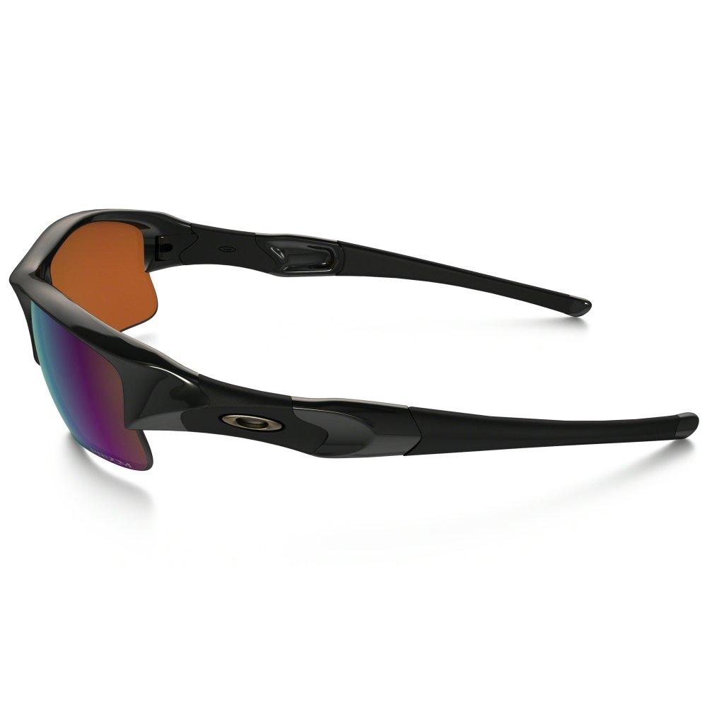 ac6256e9c6 Polarized Oakley Prizm Flak Jacket XLJ Sunglasses Polished Black ...