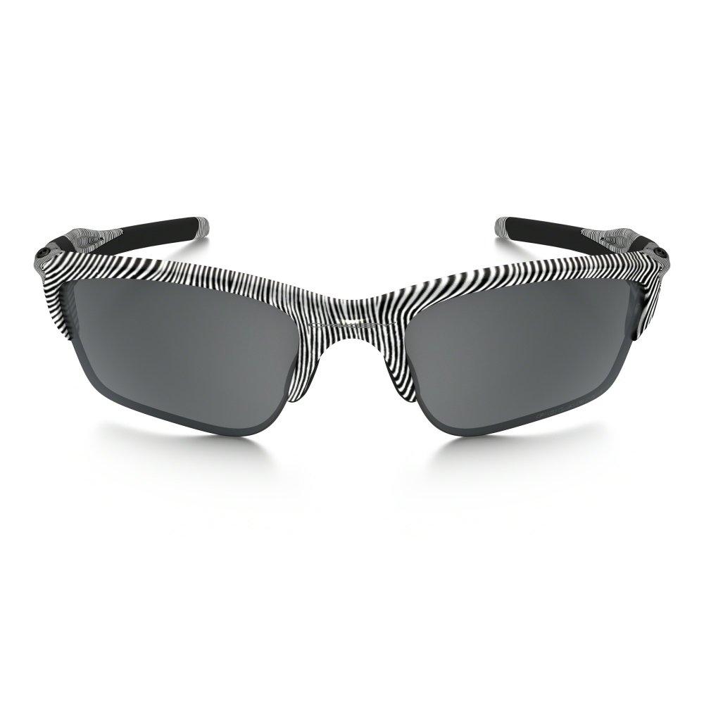fbcd42feb2 Polarized Oakley Half Jacket 2.0 XL Sunglasses Polished White OO9154-51