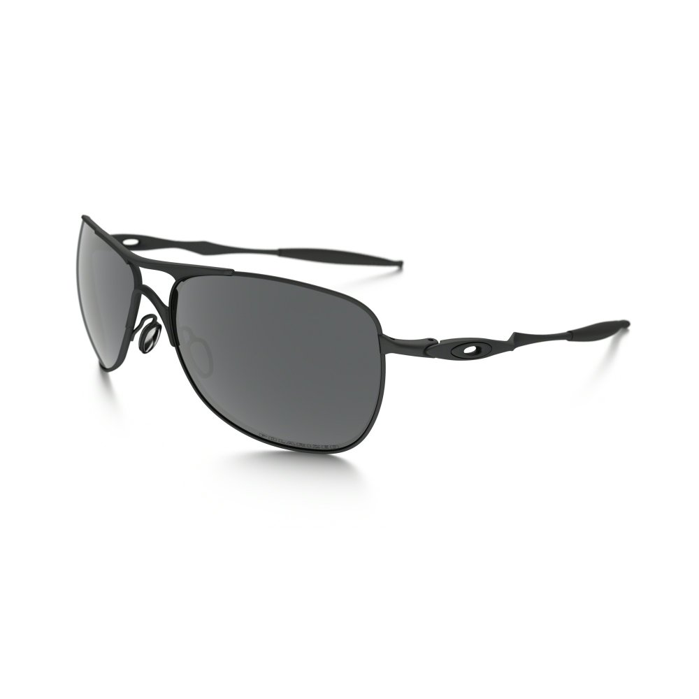 03844f90b4 Polarized Titanium Oakley Crosshair Sunglasses Pewter OO6014-02