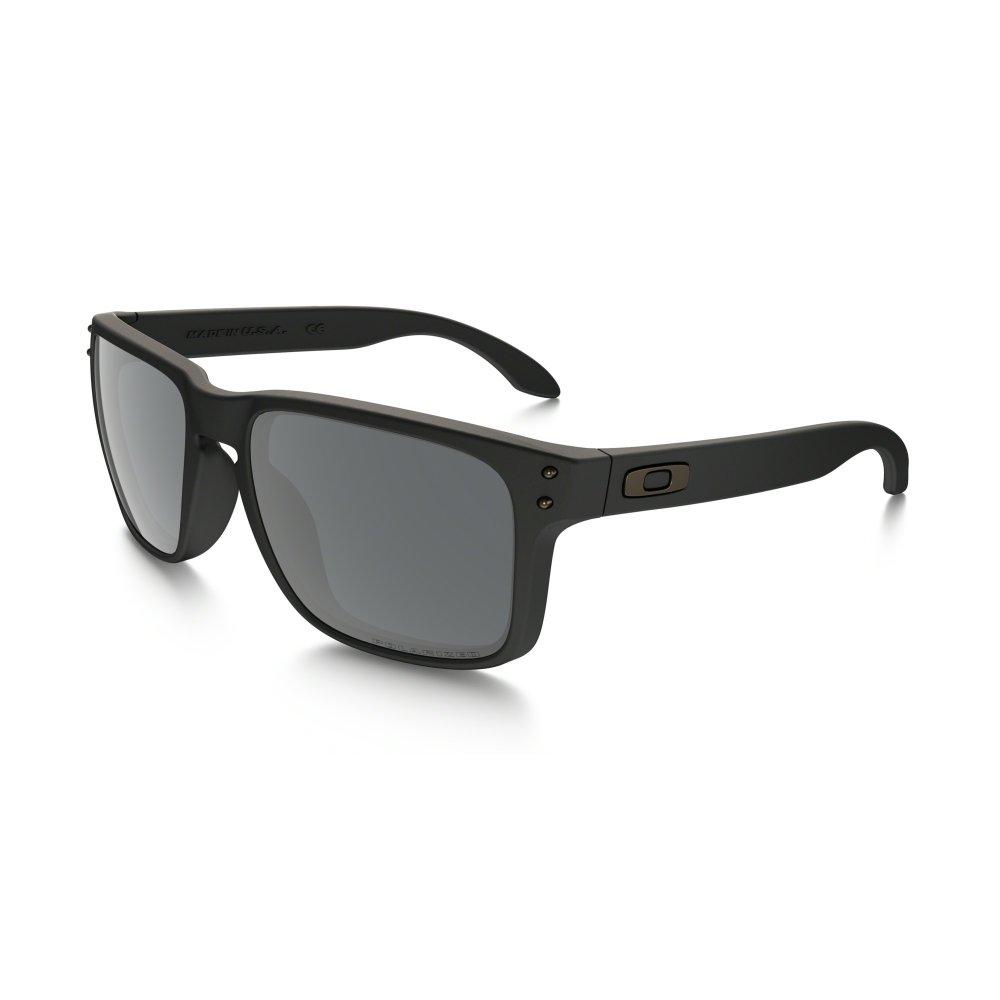125486f9f98 Polarized Oakley Holbrook Sunglasses Matte Black OO9102-62