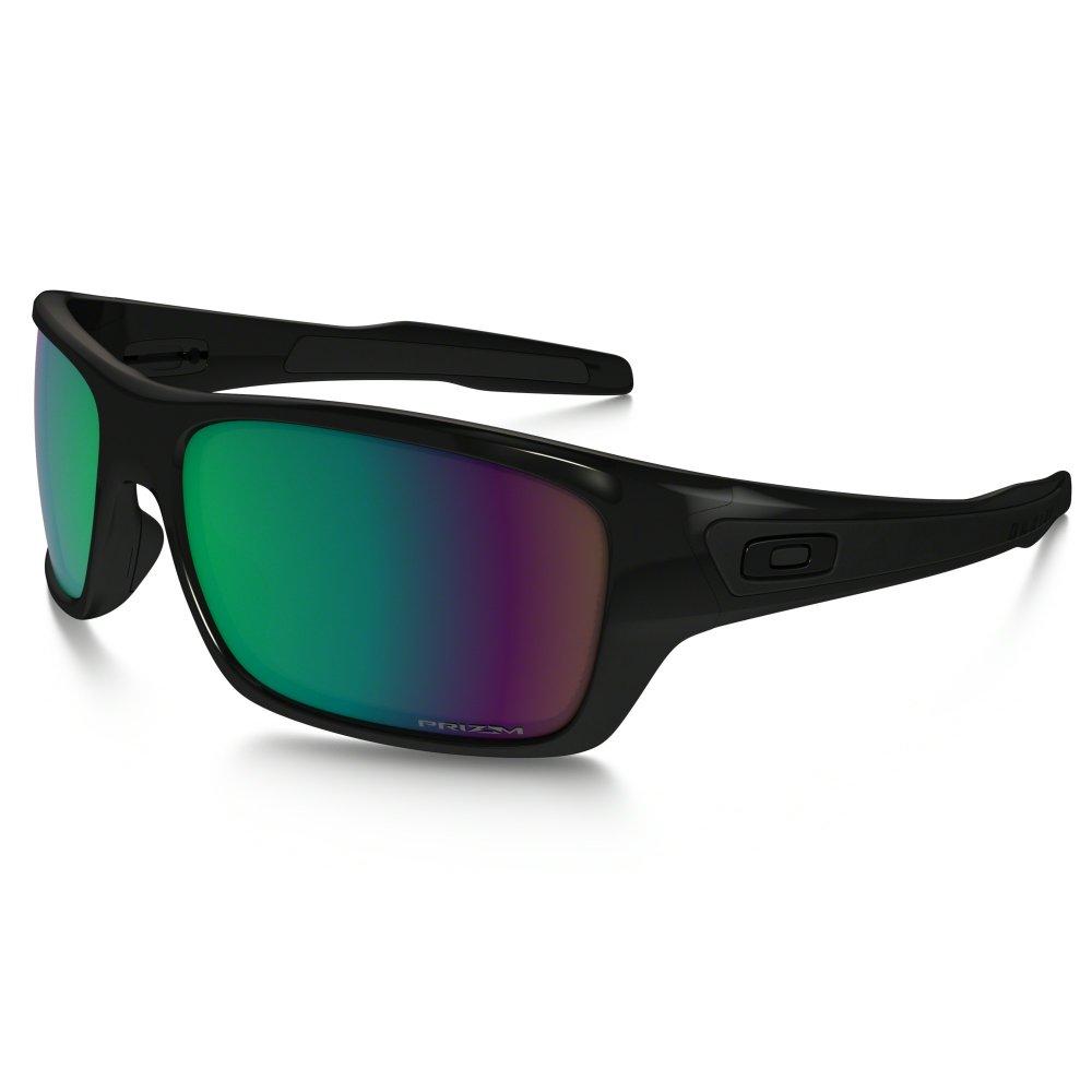 a37cc0b8c3 Polarized Oakley Prizm Turbine Sunglasses Polished Black OO9263-13