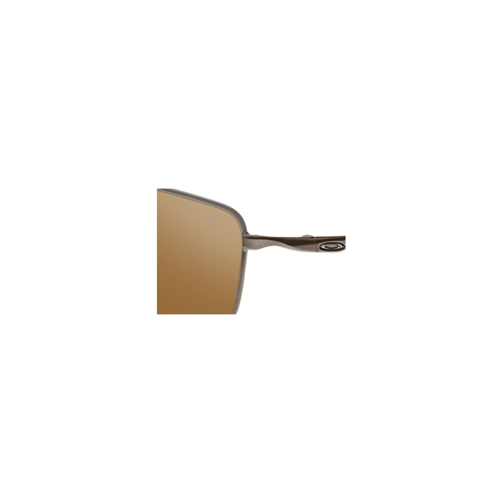 89e0b22f1b Polarized Oakley Square Wire Sunglasses Tungsten OO4075-06