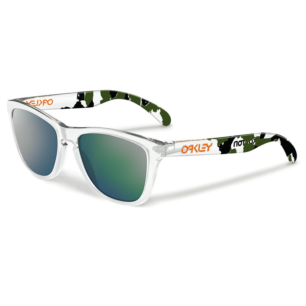 Oakley Frogskins Sunglasses Eric Koston Signature Clear 24 436