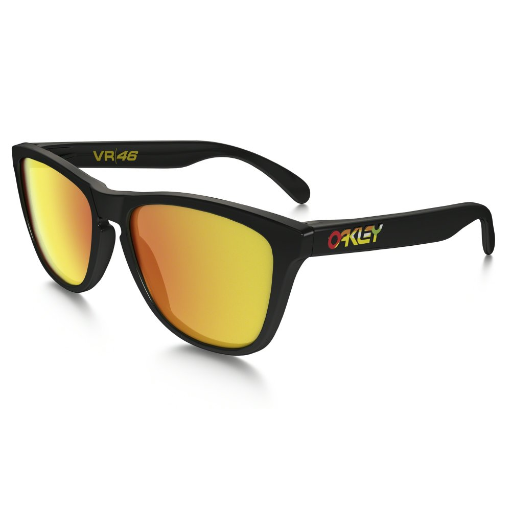 0e70c9277fe0a Oakley Frogskins Valentino Rossi Signature Polished Black 24-325