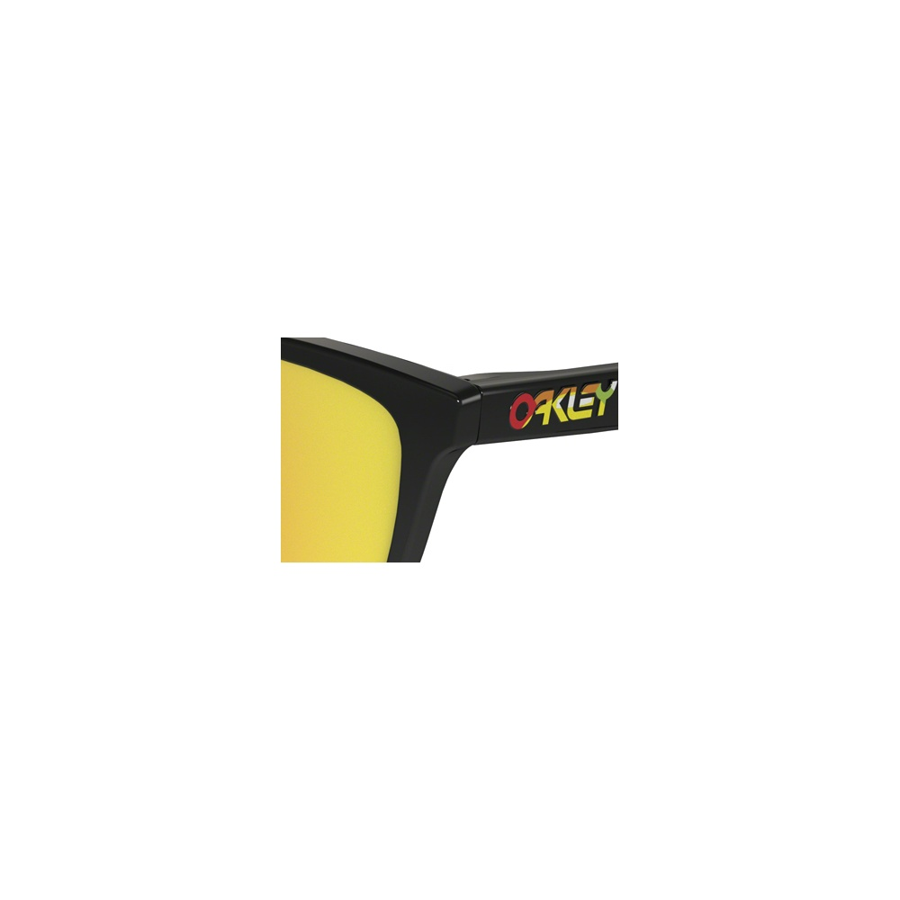 Oakley Frogskins Valentino Rossi Signature Polished Black 24-325 e748c3f7f814