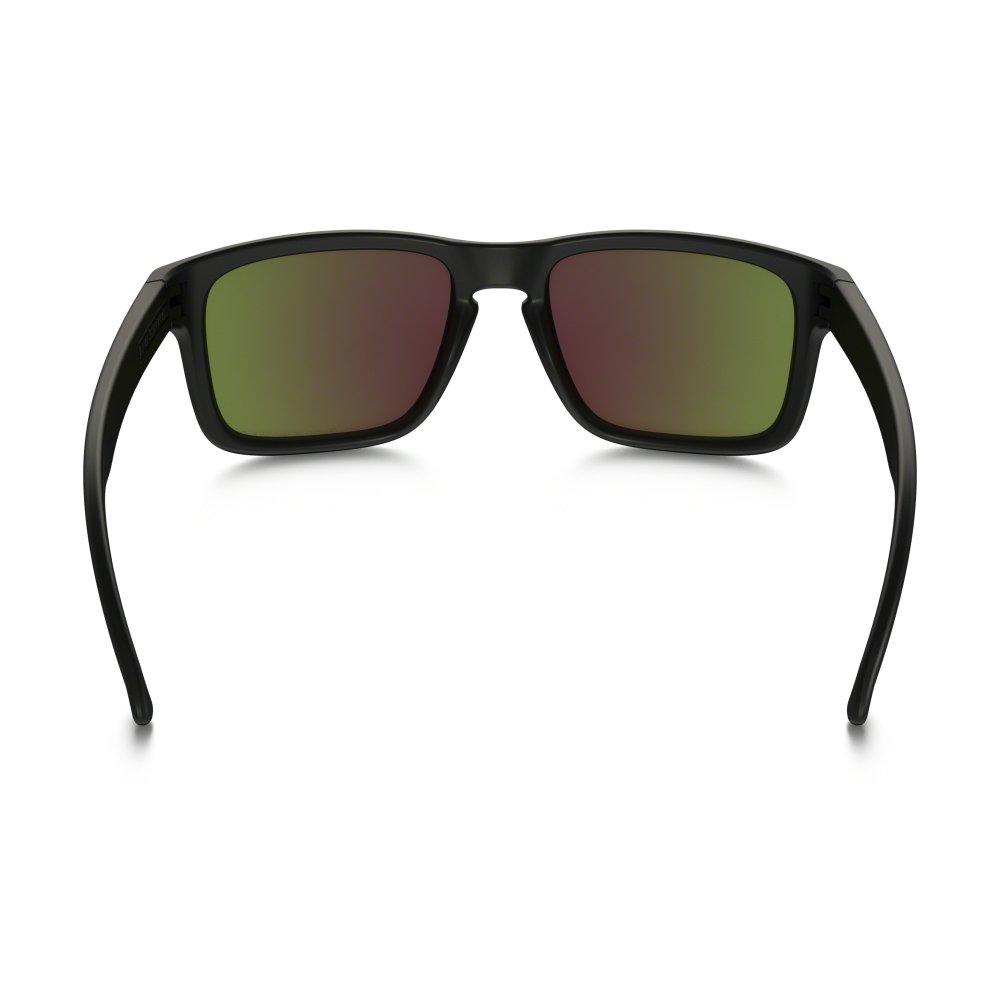 0757f86f651 Polarized Oakley Holbrook Sunglasses Polished Black OO9102-51