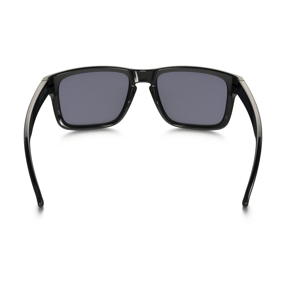 Polarized Oakley Holbrook Sunglasses Polished Black OO9102-02 53fbaf5faf